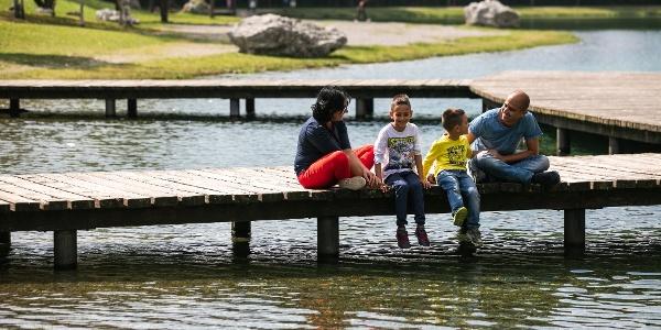 Al Lago di Nembia con la famiglia