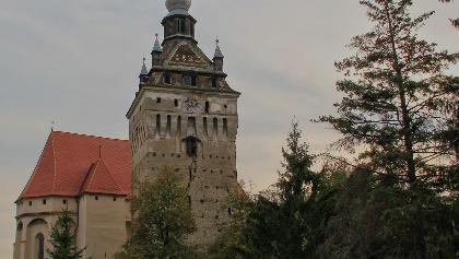 Saschiz Church Tower