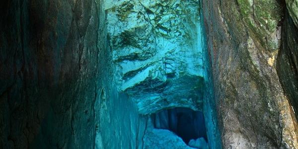 Source of the river Soča, Trenta