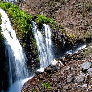 Wasserfälle auf La Palma