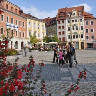 Start auf Bautzens Hauptmarkt