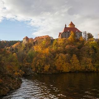 Hrad Veveří nad Brněnskou přehradou