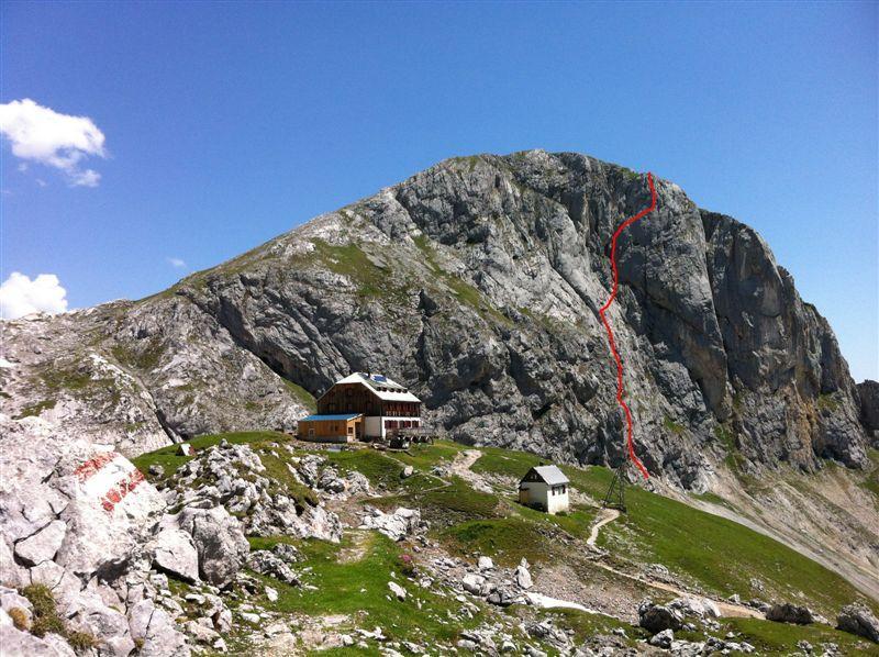 Klettersteig Johann Topo : Klettersteig anna und johann Österreichs wanderdörfer