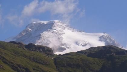 Vincentpyramide und Punta Giordani (ganz rechts!)
