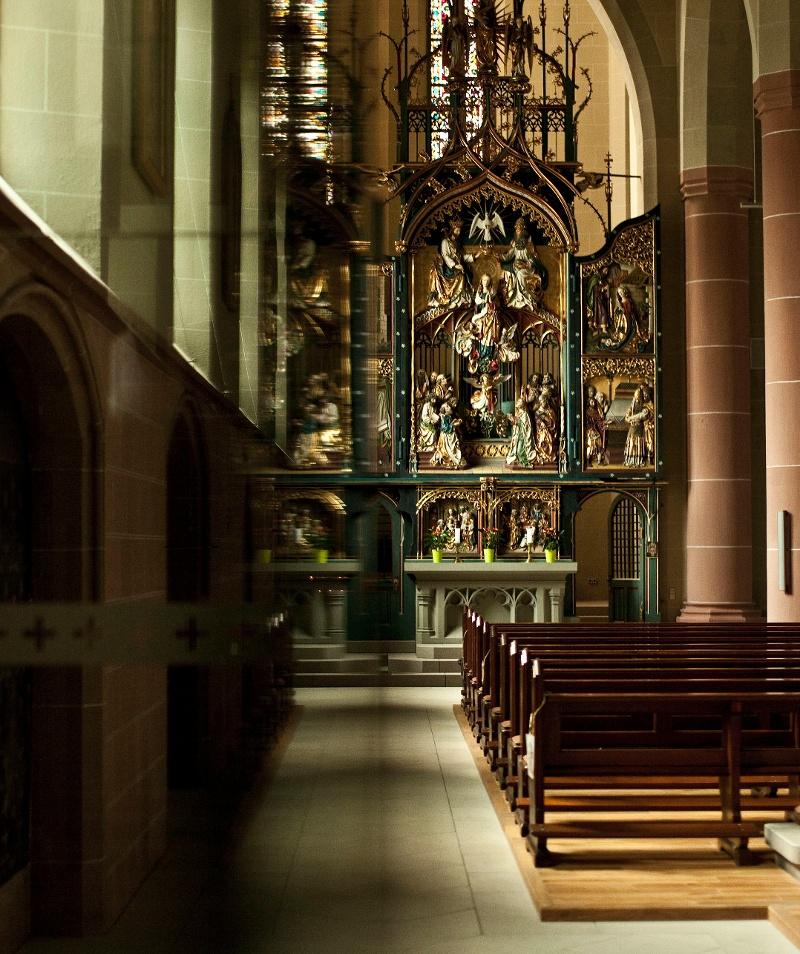 Das Münster in Neustadt auf neuen Wegen entdecken