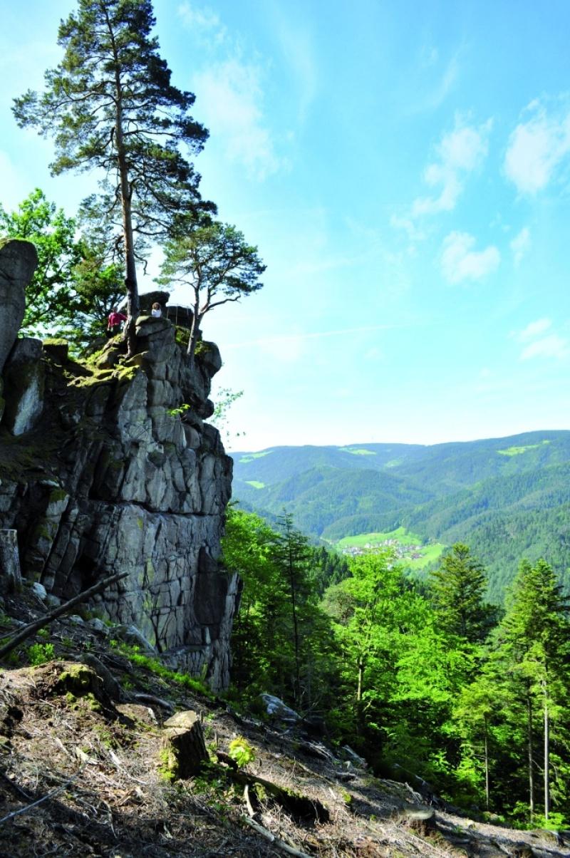 Hornberg - Felsenweg