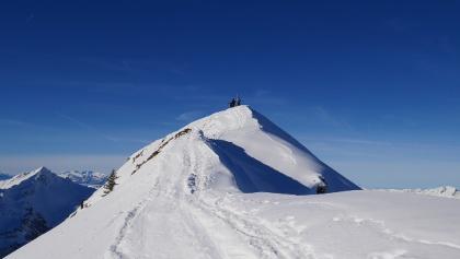 Das Zafernhorn mit dem Gipfelgrat