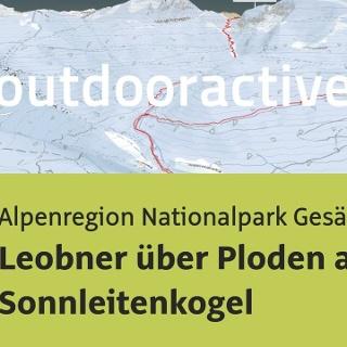 Skitour in der Alpenregion Nationalpark Gesäuse: Leobner über Ploden auf Sonnleitenkogel