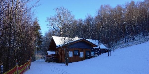 Skihütte in Walpersdorf