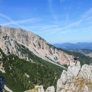 Výhľad s Oberer Herminensteigu