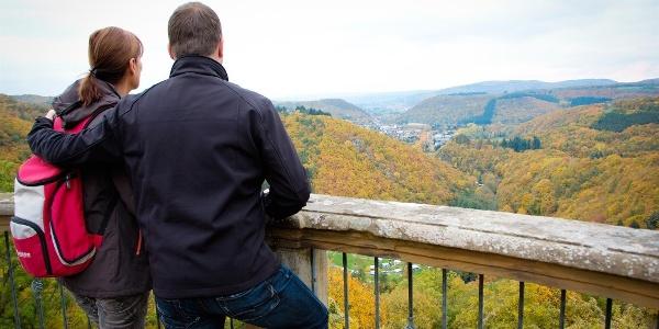 Blick ins romantische Kellenbachtal