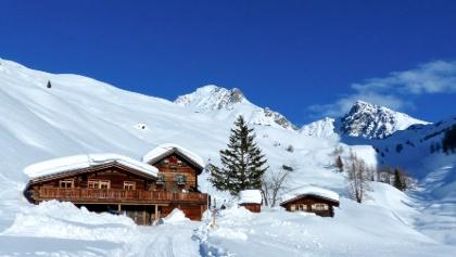 Heimeli und Umgebung Winter