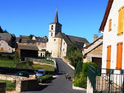 Abschied von Aumont-Aubrac