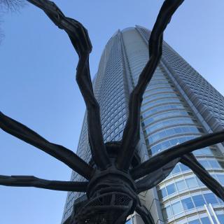 Sculpture near Roppongi Hills Tower
