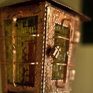 Laterne in der Denigsenhofkapelle