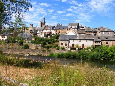 Abschied von Saint-Côme-d'Olt