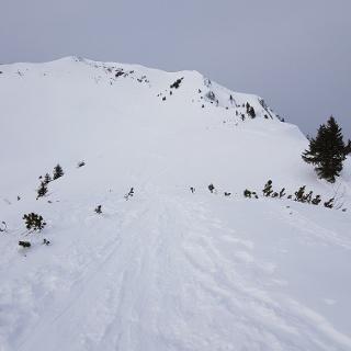 Gipfel mit Grat