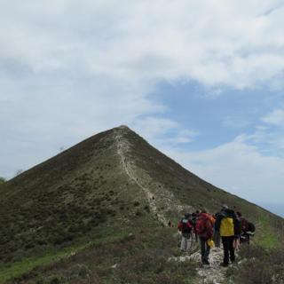 Anstieg zum Gipfel des Monte Acuto