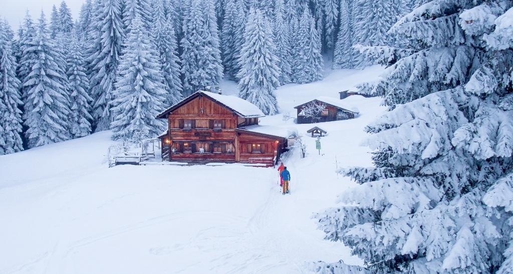 Gundhütte im Winter - @ Autor: Julian Knacker - © Quelle: Pfronten Tourismus