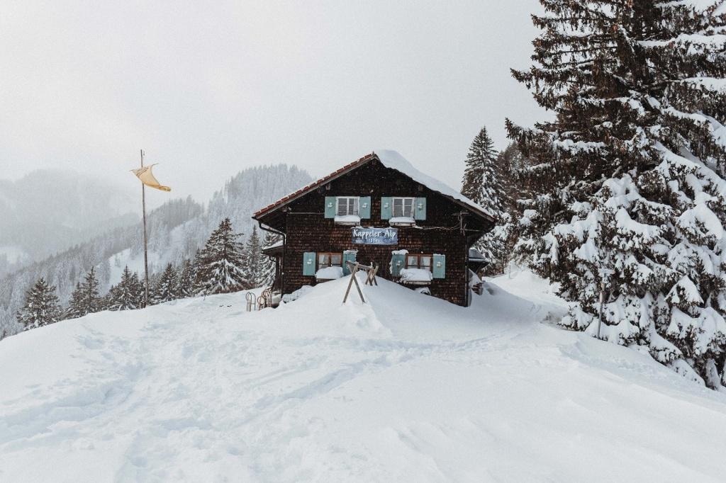 Kappeler Alp im Winter - @ Autor: Julian Knacker - © Quelle: Vipasana Roy