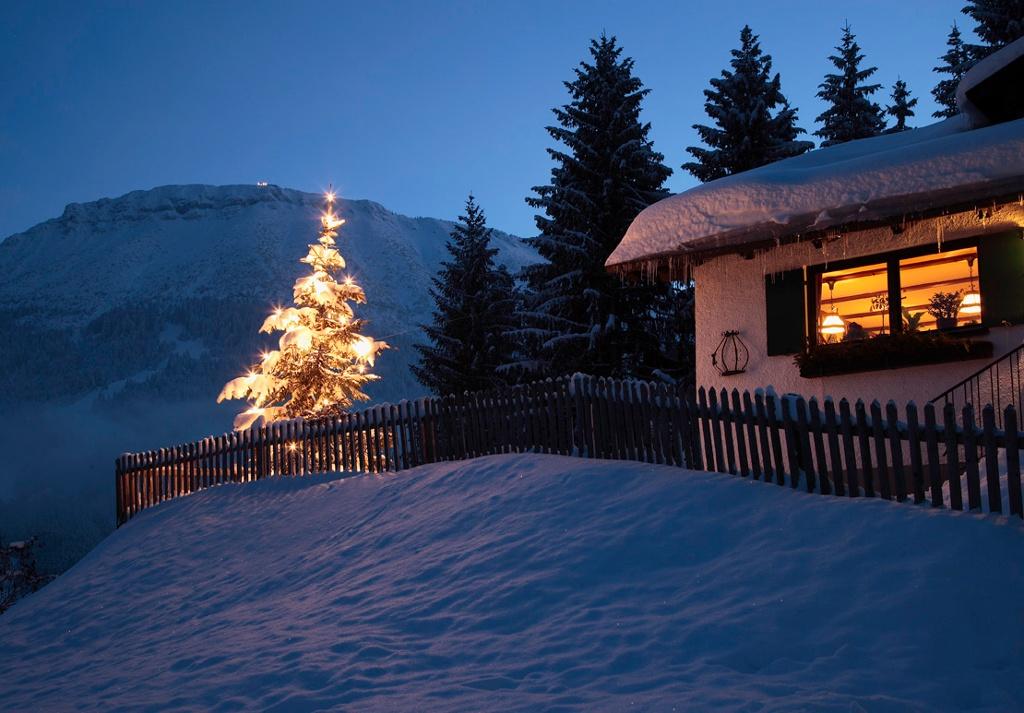Milchhäusl im Winter - @ Autor: Julian Knacker - © Quelle: Pfronten Tourismus