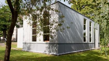 Stahlhaus, Architekten: Georg Muche und Richard Paulick, 1926/27, Siedlung Dessau-Törten, 2012