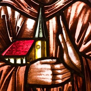 Malerei in der Hofkapelle vom Benediktenhof