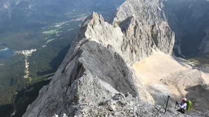 Zugspitze über das Höllental