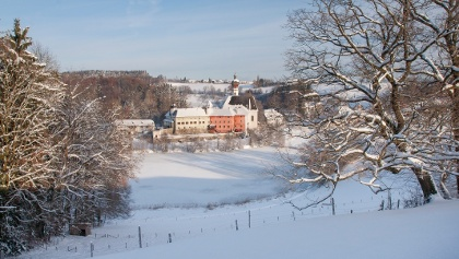 Kloster Höglwörth im Winter