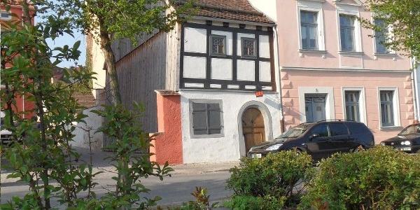 Historischen Handwerkshaus Außenansicht