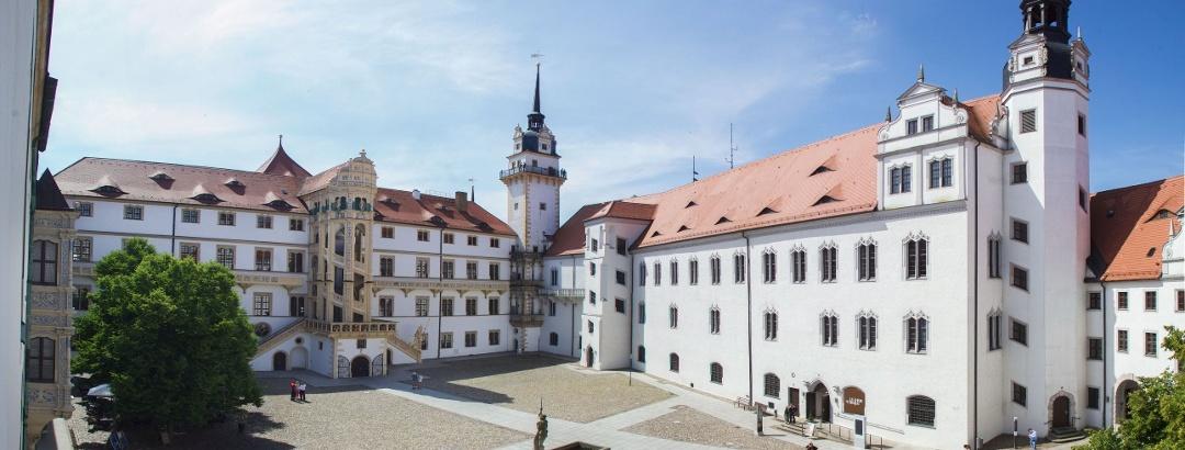 Torgau Schloss Hartenfels - Austellungsflügel