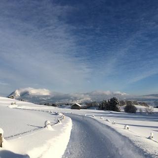 Winterwanderweg nach Hirtenstein