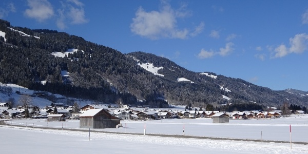 Winterwanderweg von Bolsterlang nach Obermaiselstein