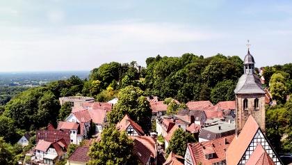 Tecklenburg von oben