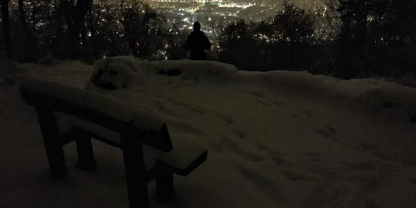 Pihenő a Tábor-hegy alatt