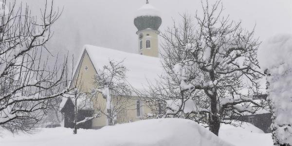 Kirche Partenen