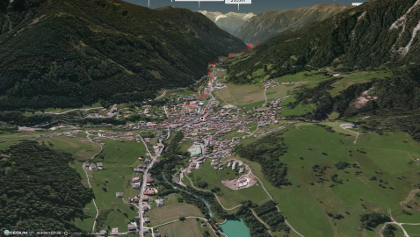 Mountainbike-tour im Val di Fassa: AlpX19-6 Moena-Bozen