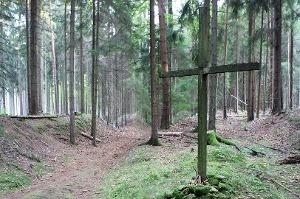 Foto Pilgerkreuz am Heiligen Weg