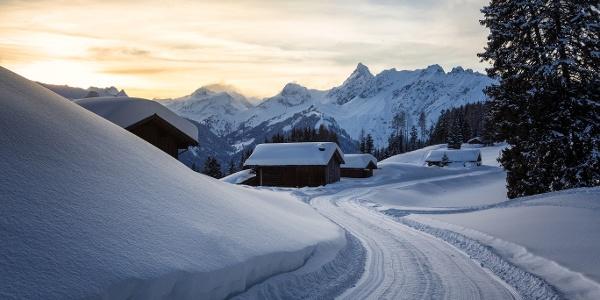 Winterwandern Fritzensee