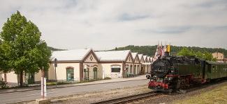 Foto Weißeritzpark und Kleinbahn