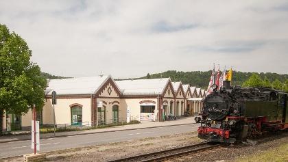 Weißeritzpark und Kleinbahn