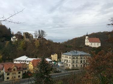 Foto Burgruine und Bergkirche Tharandt