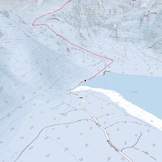Skitour am Traunsee: offensee-pühringerhütte