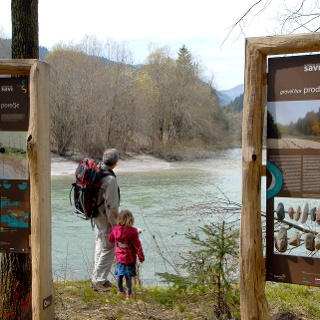 The Sava River Trail (information panels)