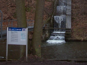 Foto Kaskaden am Wasserkraftwerk Rabenauer Grund