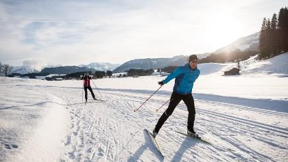 Langlaufen & Skating auf der Sonnenalp Loipe - Ofterschwang