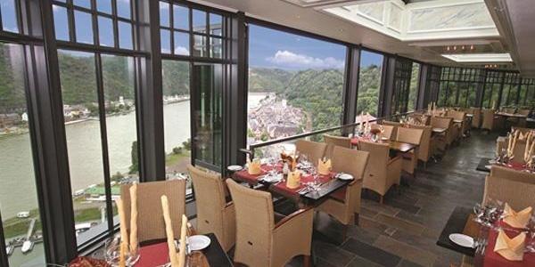 Wintergarten des Restaurant Auf Scharffeneck