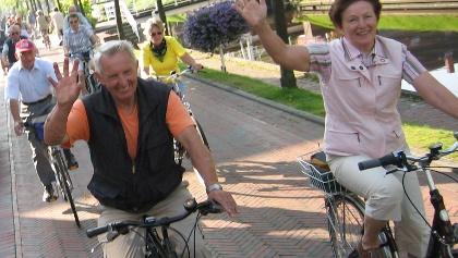 Radfahrer in Papenburg