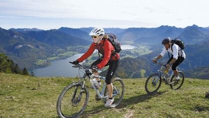 Salzburger Almen Tour: Abfahrt von der Bergalm