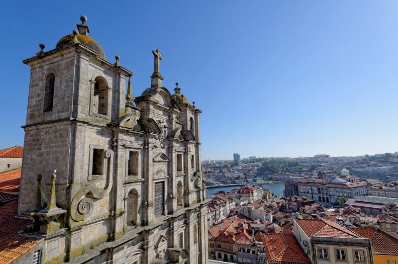 Vista de Oporto desde arriba
